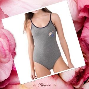 Other - SIZE L NWT GRAY BODY SUIT